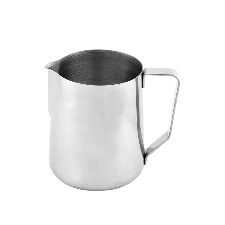 Stainless Steel Beaker Coffee Mug Pitcher Drink Bottle Cup 1000ml Silver Tone