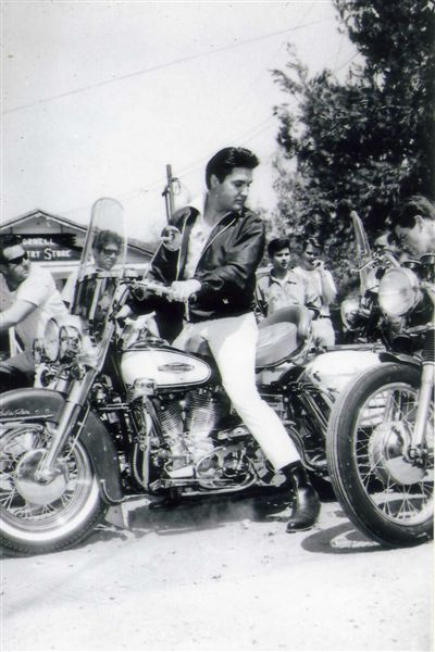 "Elvis In 1966 during the filming of ""Spinout """