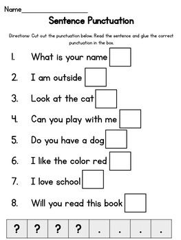 simple sentence punctuation shared reading 2016 2017 teaching punctuation punctuation. Black Bedroom Furniture Sets. Home Design Ideas