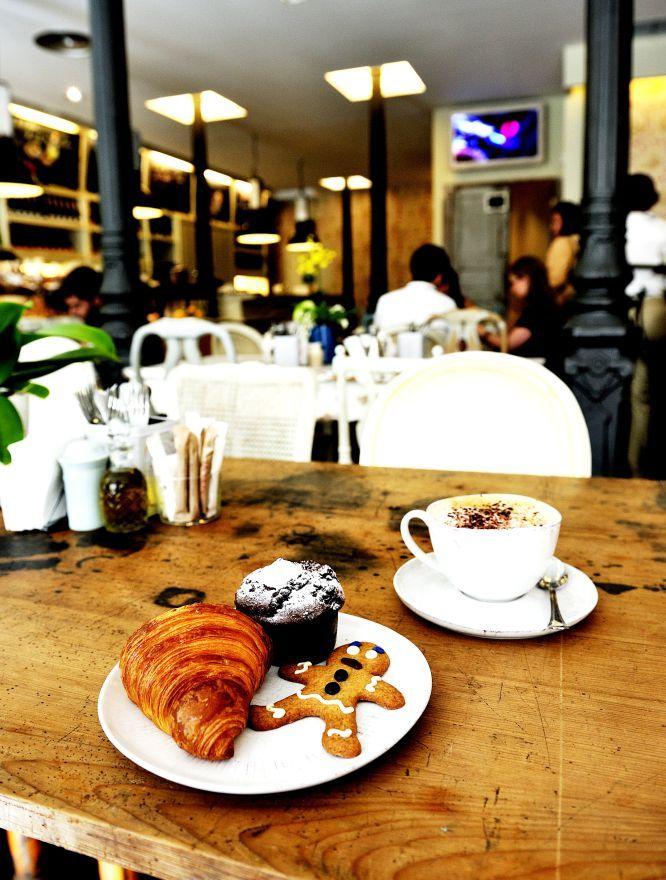 MAMA FRAMBOISE, una panadería y pastelería de estilo francés con un agradable salón. Ideal para desayunos y meriendas. En la calle Fernando VI.