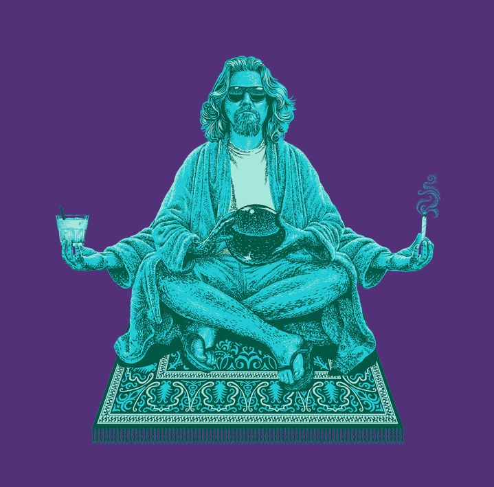 The Dude up at http://www.teefury.com/the-dude-variant for all the Big Lebowski fans