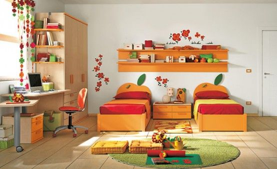 warm room ideas warm children room ideas_025 lovely children bedroom design ideas rooming pinterest shelves decorating ideas and children