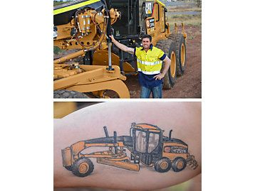 1000 images about caterpillar equipment tattoos on pinterest. Black Bedroom Furniture Sets. Home Design Ideas