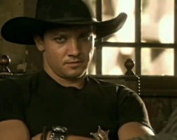 """Jeremy Renner in Pink's """"Trouble"""" music video"""