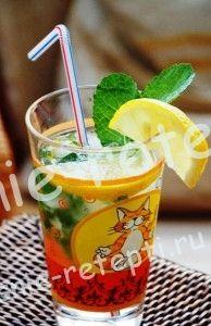 безалкогольный коктейль с лимоном