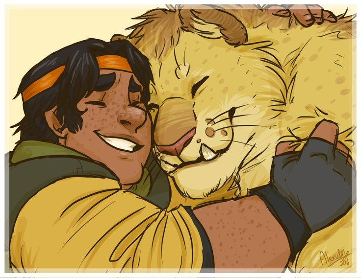 Hunk and his realistic Yellow Lion from Voltron Legendary Defender