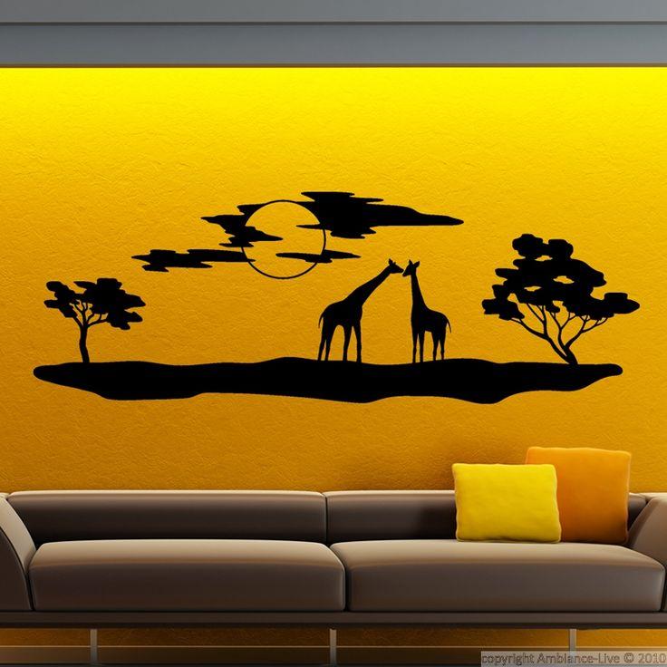 17 meilleures id es propos de silhouette de girafe sur