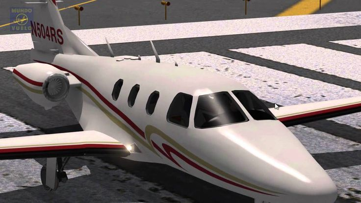 Full instrumental VOR flight in Jets Eclipse 550