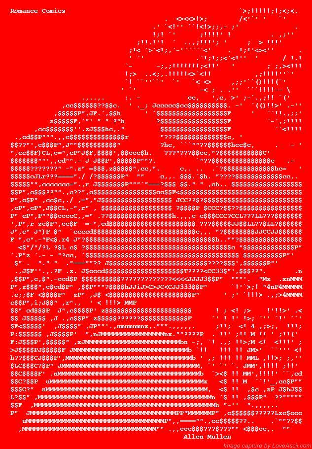 17 Best images about ASCII Art Kisses on Pinterest | Gone