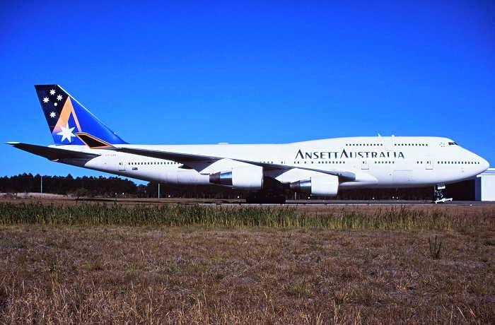 Ansett Australia Boeing 747-412 (VH-ANB)