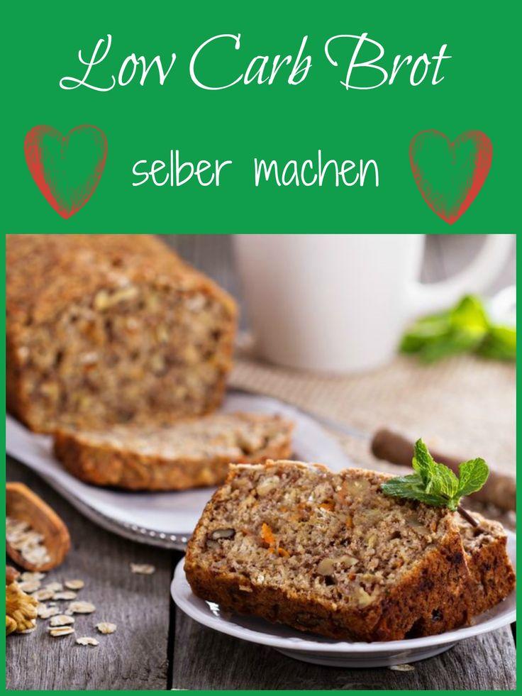 Finde leckere Rezepte für Brote ohne Kohlenhydrate!