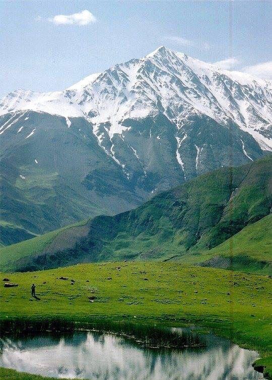 ♔ ☪ Azerbaijan: Bazarduzu zirvesi