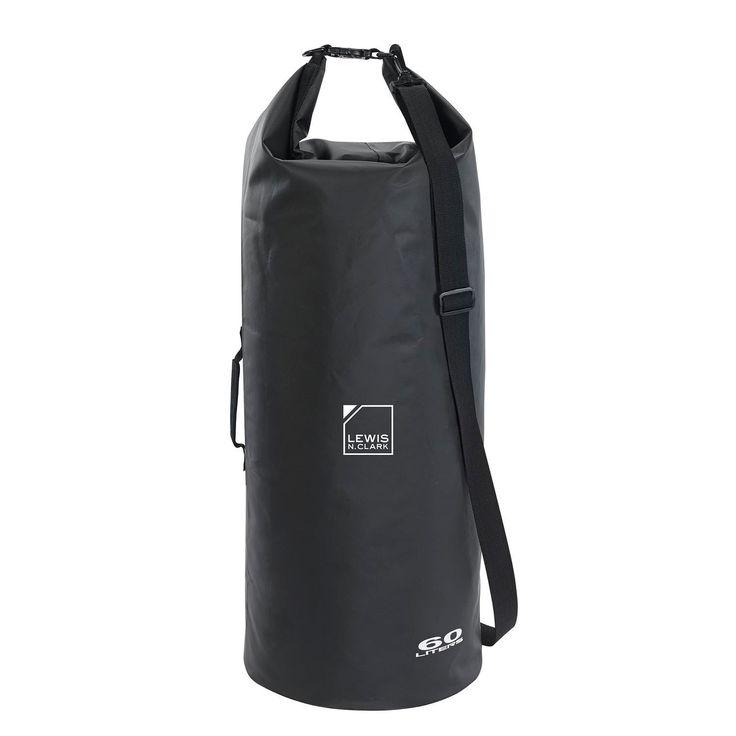 Lewis N Clark Heavy-Duty Dry Bag 60L Black