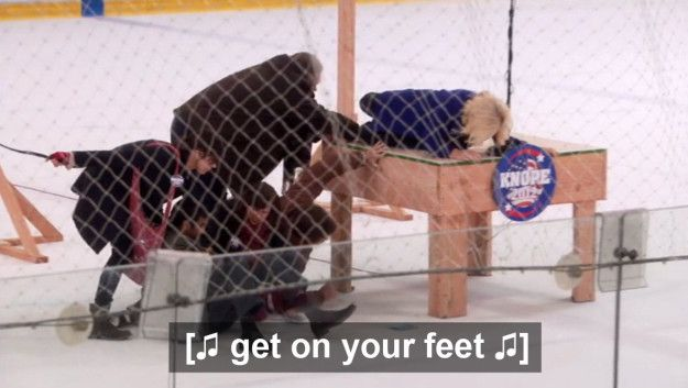 """But nothing in the history of television, future or past, will be funnier than this scene. 