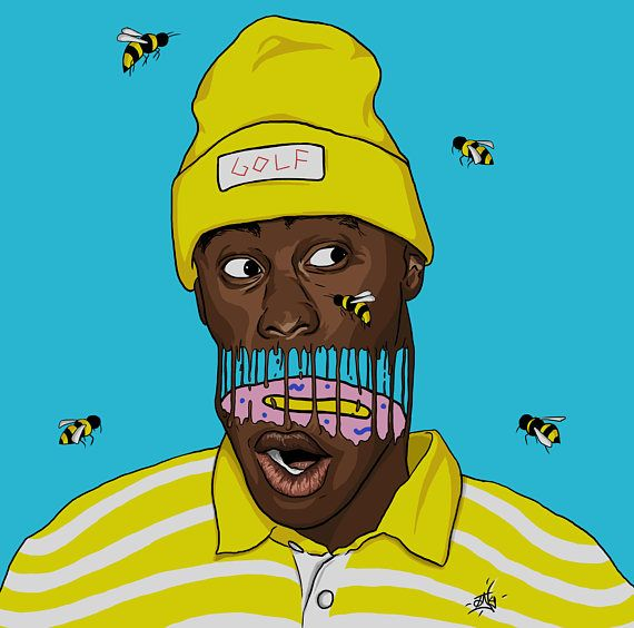 Tyler, the Creator Flowerboy Print in 2020 Rapper art