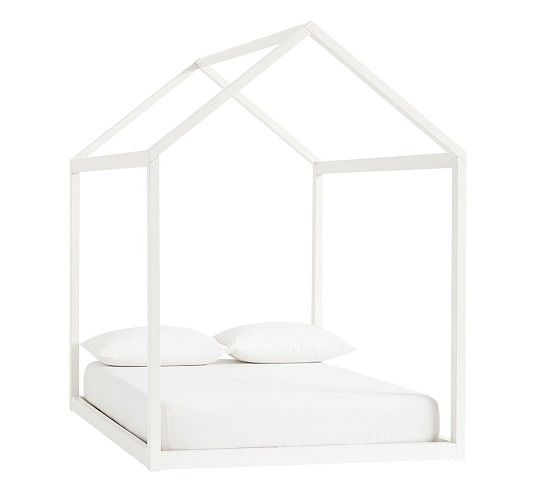Camden House Bed Full Simply White Ups In 2020 Bed