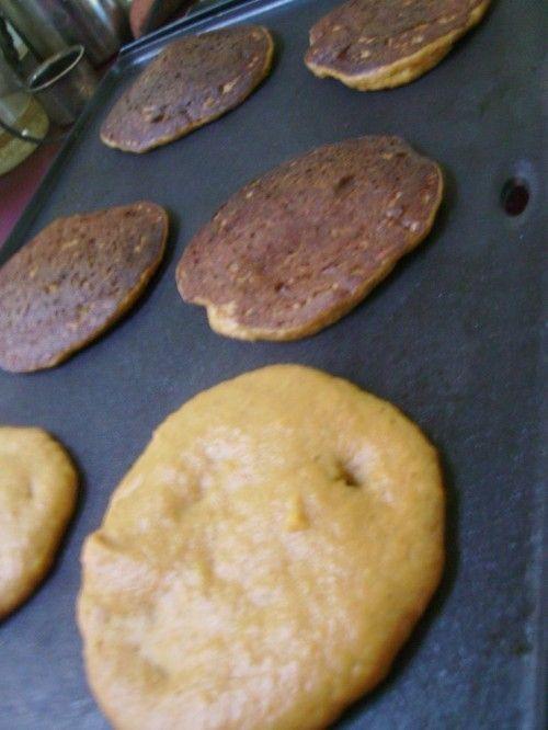 Healthy Pumpkin Pancakes | The Frugal Farm Wife