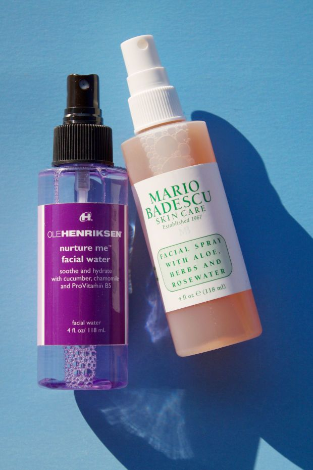 Face mists from Ole Henriksen and Mario Badescu will soothe and hydrate your skin. http://beautyeditor.ca/2016/07/25/beauty-products-for-allergy-sufferers