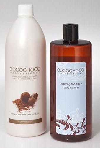 Complex Brazilian Keratin Hair Treatment (34oz) + Clarifying Shampoo 34oz / 1000ml