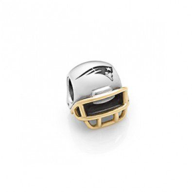 Pandora New England Patriots Football Helmet Charms