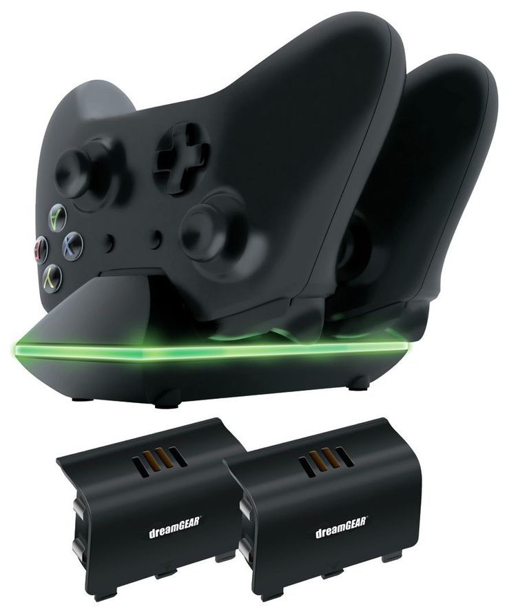 Features:  Product Type: -Electronic/Mechanical. Dimensions:  Overall Product Weight: -0.5 lbs.  --For Microsoft Xbox One, includes 2 rechargeable batteries, batteries fit into Xbox One controller, ch