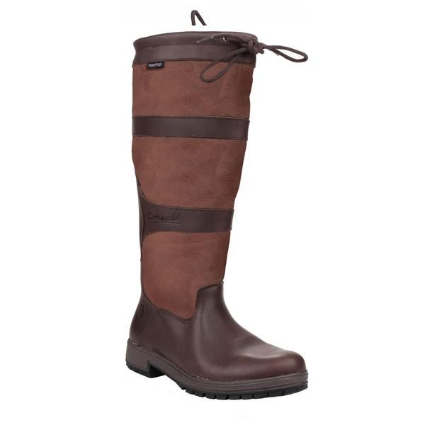 Cotswold Wellingtons - Beaumont Tall Leather Unisex Boots. Brown. Size: 36, 37, 38, 39, 40, 41, 42. #Brown #Boots #Womens #Mens #Leather #Country #Cotswold #Cotswolds #Cotswoldshoes