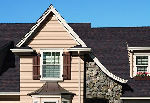 Best Teak Owens Corning Trudefinition Duration Driftwood Roof Roofing Shingles 640 x 480