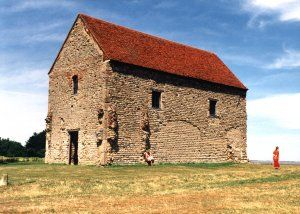 Possibly the oldest church in England: Chapel of St Peter-on-the-Wall, Bradwell-on-Sea, Essex.