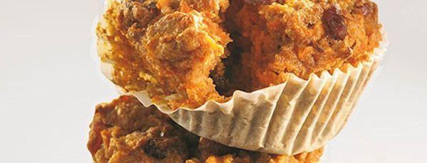 Muffins aux Carottes et aux Canneberges