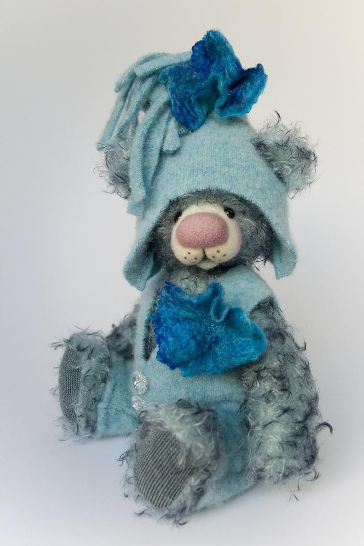 Darel mohair artist teddy bear by Bear Treasures