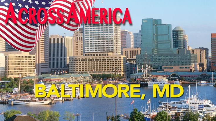 Drive-through video of Baltimore, Maryland, from the historic downtown to Fort McHenry, where the Battle of Baltimore inspired Francis Scott Key to write the words to the national anthem, the Star-Spangled Banner.