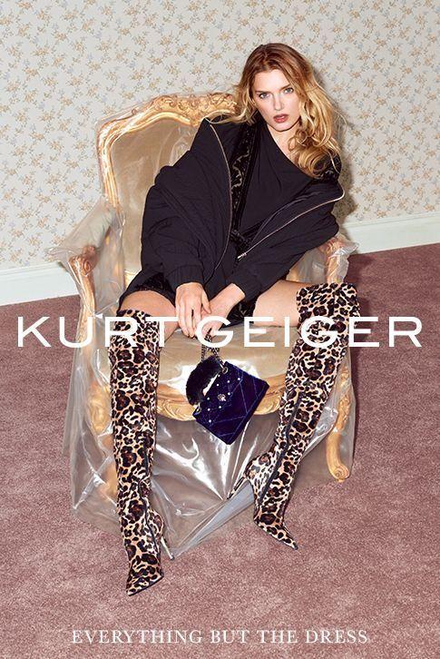 Kurt Geiger Autumn Winter '17 Campaign.