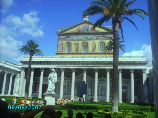 Iglesia de San Pablo Extramuros, Roma
