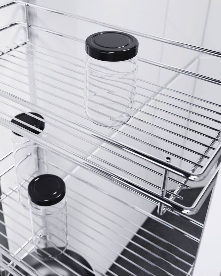 A classic among corner unit solutions. The Wari corner unit makes access easy because of its user-friendly movement sequence when it is opened. Stored goods can be reached easily as the front shelves swing out in one smooth, fluid movement as it opens, making it easy to reach shelves which then move forward into the front section of the unit.