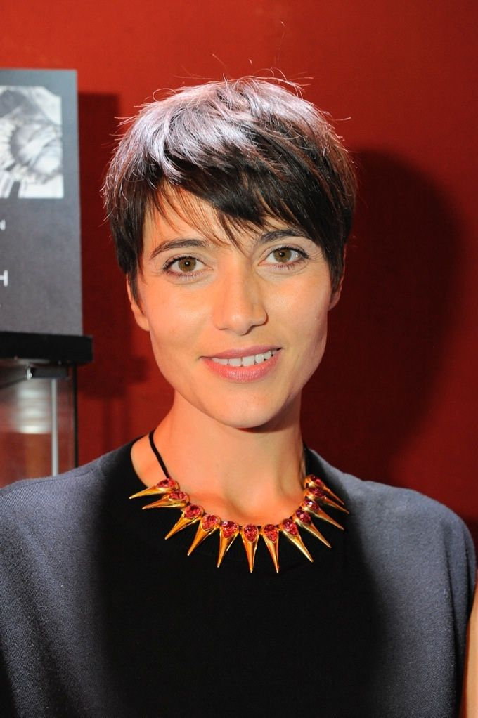 #AnnaFoglietta wearing #LaMandragoraJewelry - #Spike Me #Necklace @ #Club7 #InternationalRomeFilmFestival