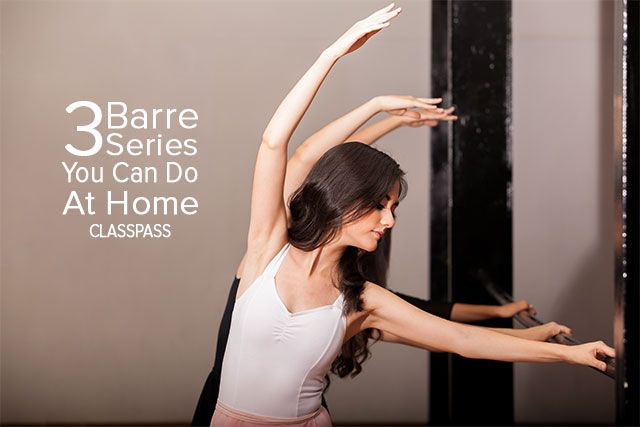 Check out these leg shaking barre workouts you can do at home.