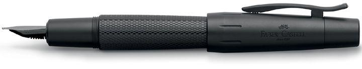 перьевая ручка Faber-Castell E-motion Pure Black