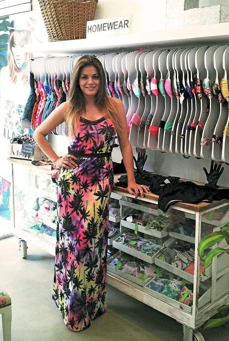 Natalie Perez en nuestro local de Palermo!