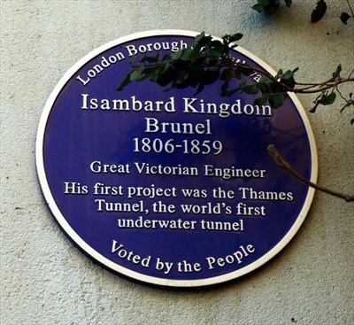 Isambard Kingdom Brunel, Rotherhithe, London, UK Sadly he  died too young but what a Fantastic Lagacy he left the world. The Brunel Family were though to be of Huguenot Ancestry