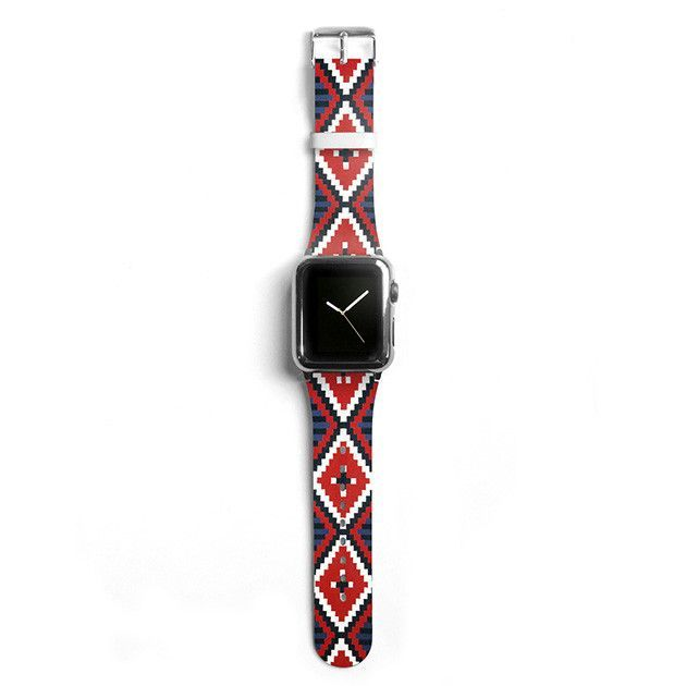 Navajo Aztec Apple watch band, Decouart Apple watch strap S001