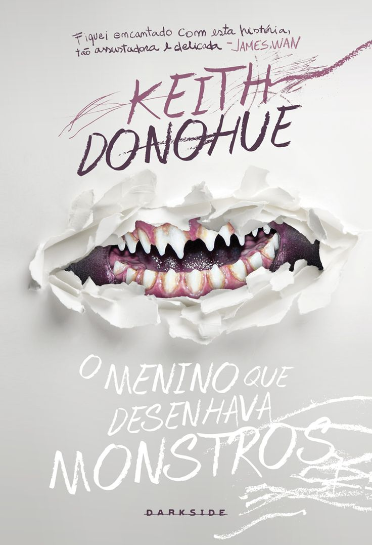 O Menino que desenhava monstros ( the boy who drew monters ) - Keith Donohue - Editora Darkside - brazilian edition.