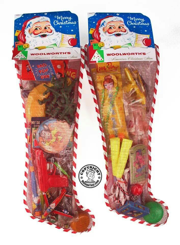 Always wanted to win the large stocking that Pic-Pac grocery store gave away when I was a kid!