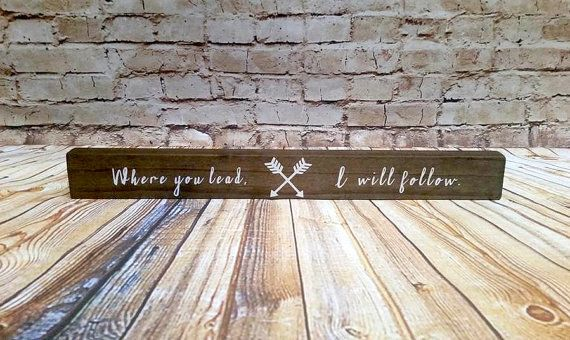 A wood sign that will make you sing the theme song 5x a day. | 19 Things Every Gilmore Girls Fan Needs In Their Life