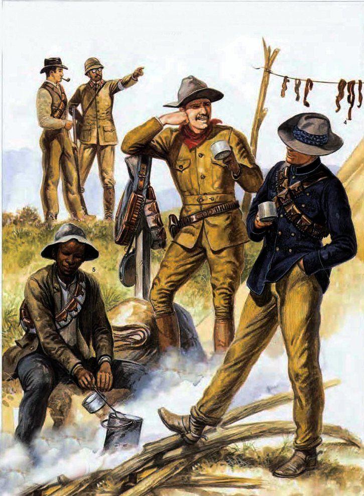 Boer volunteers