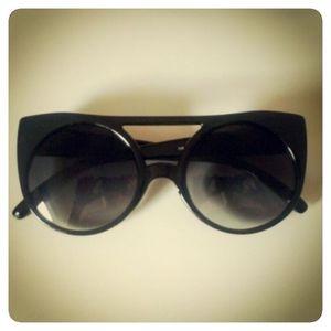 Óculos Round Cat Eye