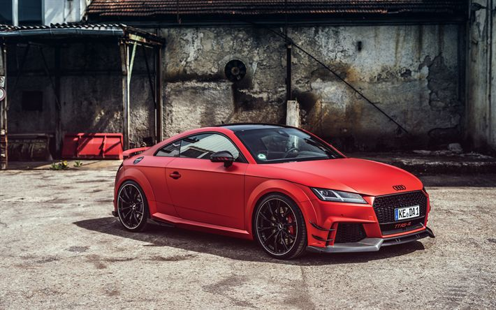 Hämta bilder ABBOT, tuning, Audi TT RS-R, 2017 bilar, tyska bilar, 8S, Audi TT
