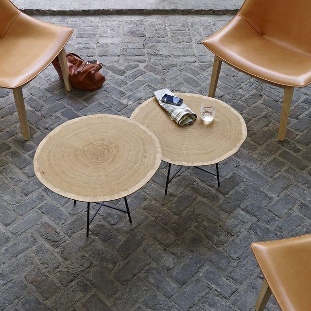 Tables basses ALBURNI / Lucidi Pevere / Cinna / Mobilier contemporain