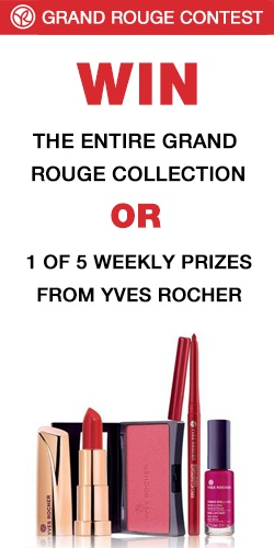 Win The Entire Yves Rocher Grand Rouge Collection