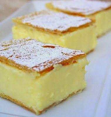 Ika's Kitchen: Vanilla Slice