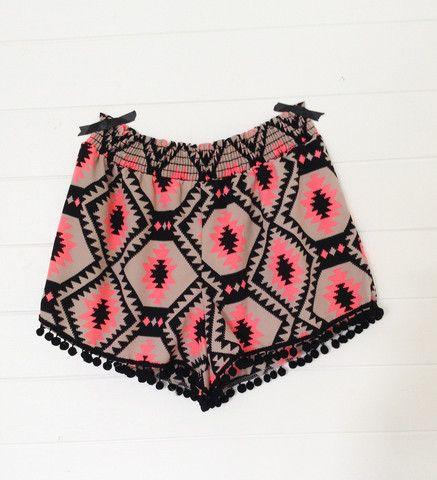 G E O - Tribal Shorts by Ascot Hart